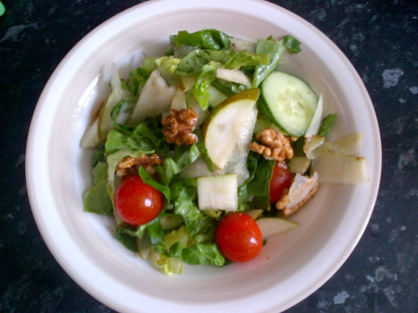 Walnut and Pear Salad